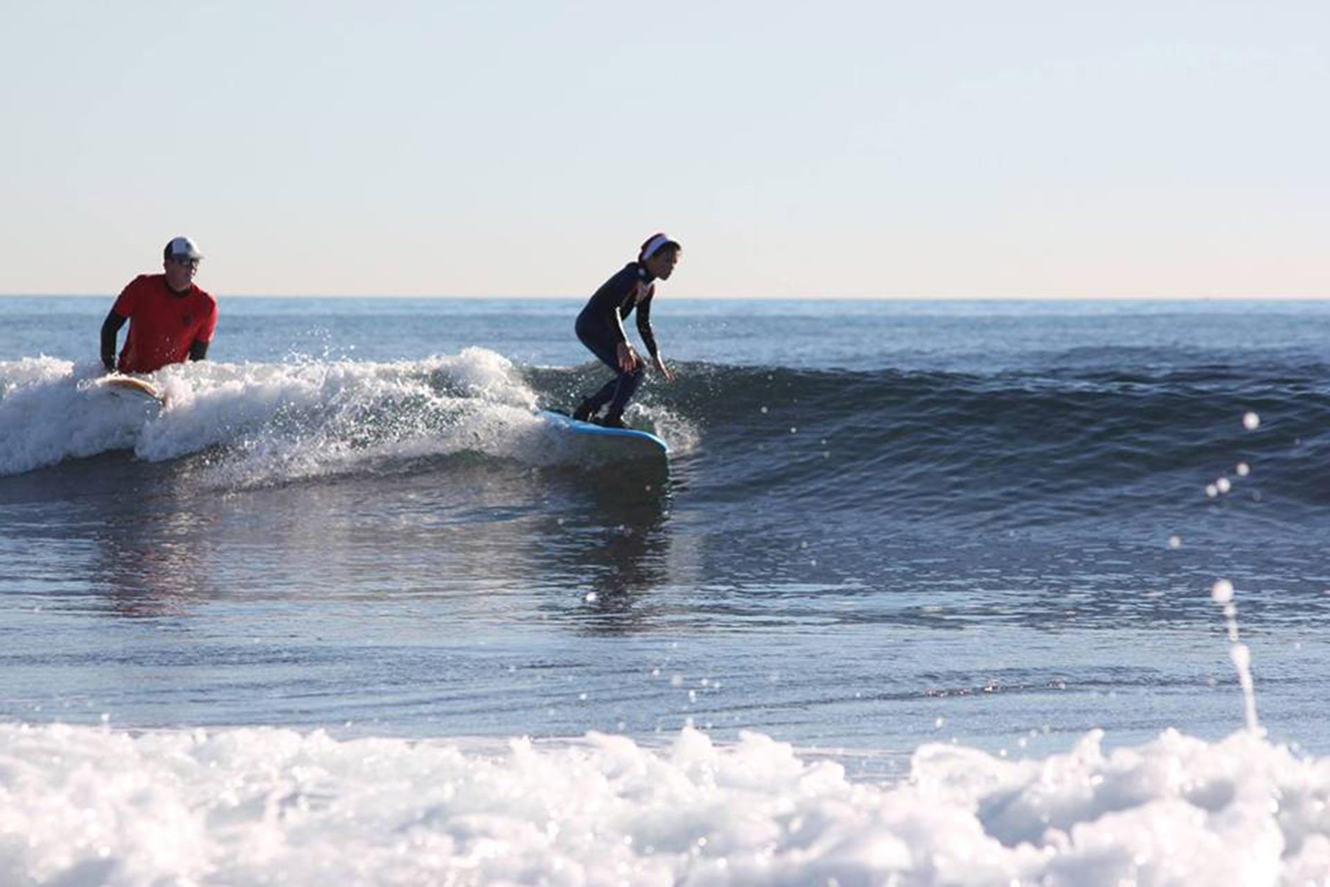 Surfer à marseille